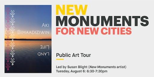 New Monuments: Public Art Tour with Susan Blight