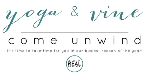 Yoga & Vine for Real Estate Professionals