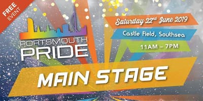 Portsmouth Pride 2019 Main Event; VIP TICKETS (18+)