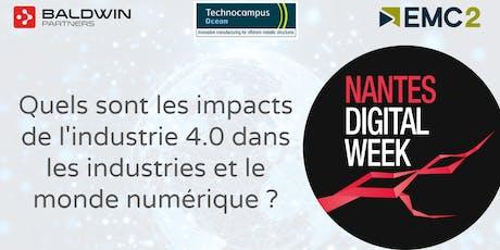 Quels sont les impacts de l'industrie 4.0 dans les industries et le monde numérique ? billets