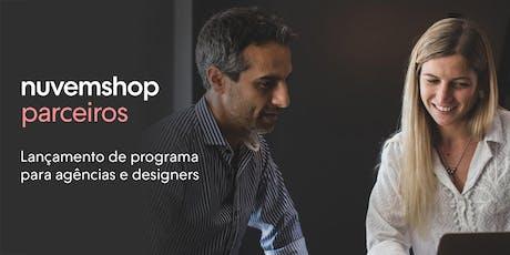 Lançamento do novo programa de parceiros Nuvemshop no Brasil tickets