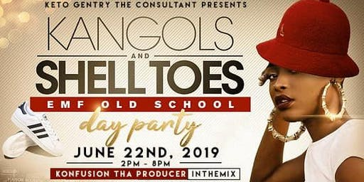 Keto Gentry The Consultant Presents KANGOLS & SHELL TOES Day Party @Davenport.