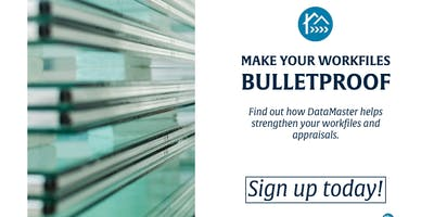 Make Your Appraisal Workfile Bulletproof with DataMaster - New Jersey