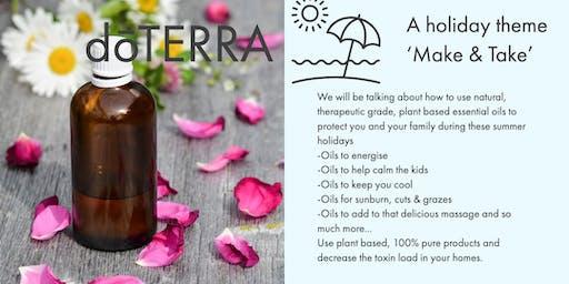 dōTERRA 'Make & Take', holiday theme