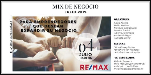 MIX DE NEGOCIO REMAX