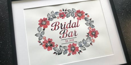 Custom Floral Wreath tickets