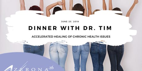 Accelerated Healing of Chronic Health Issues tickets