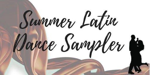 Summer Sizzler Latin Dance Sampler Class