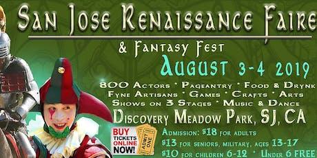 San Jose Renaissance Faire & Fantasy Fest (9th Annual) tickets