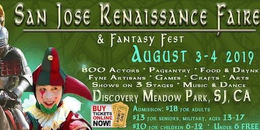 San Jose Renaissance Faire & Fantasy Fest (9th Annual)