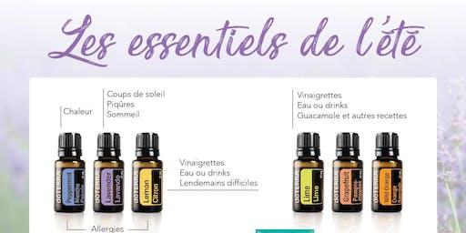 Rencontre autour des huiles essentielles doTERRA