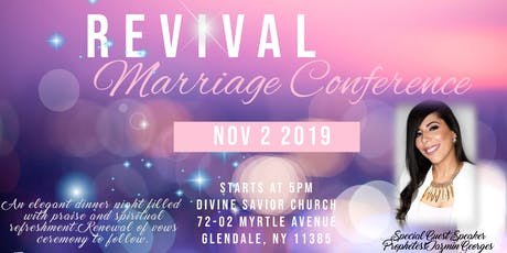 Revival Marriage Conference 2019 tickets