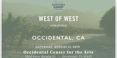 West of West Festival in Occidental CA tickets