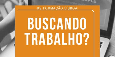Workshop  Trabalhe em Portugal bilhetes