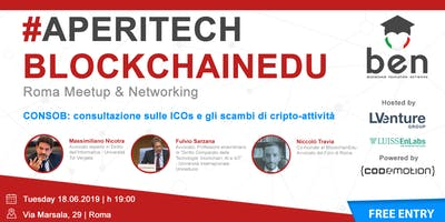 ROMA - Meetup #AperiTech di Blockchain Education Network Italia