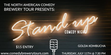 Comedy Night at Golda Kombucha tickets