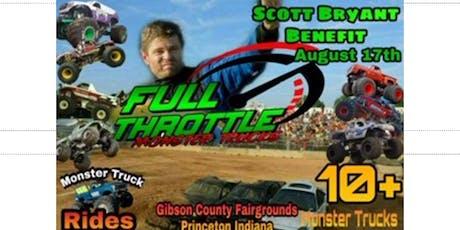 Scott Bryan Benifet Monster Truck Show tickets