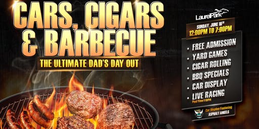 Laurel Park's Cars, Cigars & BBQ: The Ultimate Dad's Day Out!