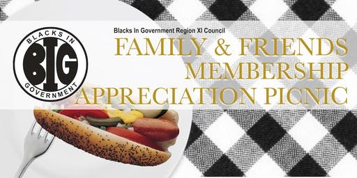 BIG Region XI Family and Friends Membership Appreciation Picnic