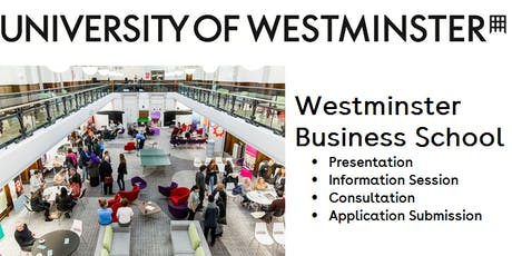 University of Westminster : Presentation and Consultation Day tickets