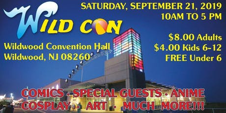Wild Con! Wildwood NJ Comic Book Festival tickets