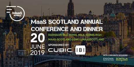 MaaS Scotland Annual Conference and Dinner 2019 tickets