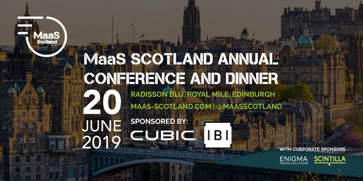 MaaS Scotland Annual Conference and Dinner 2019