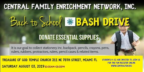 BACK TO SCHOOL DRIVE BASH tickets