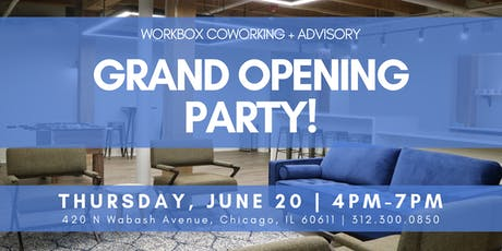 Workbox Grand Opening Party tickets