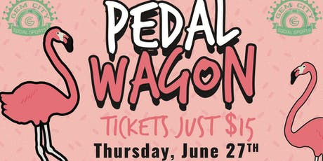 GCSS Pedal Wagon and Bar Crawl tickets
