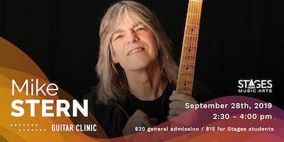 Mike Stern Guitar Clinic