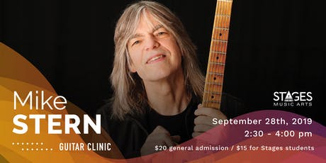 Mike Stern Guitar Clinic tickets