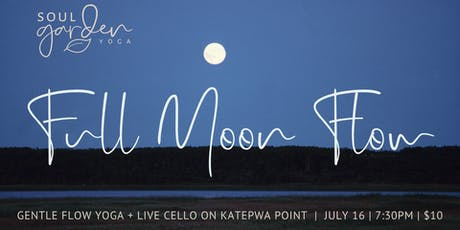 Full Moon Flow with Live Cello on Katepwa Point tickets