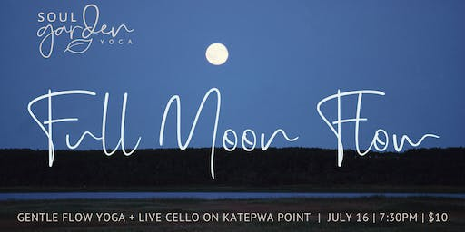 Full Moon Flow with Live Cello on Katepwa Point