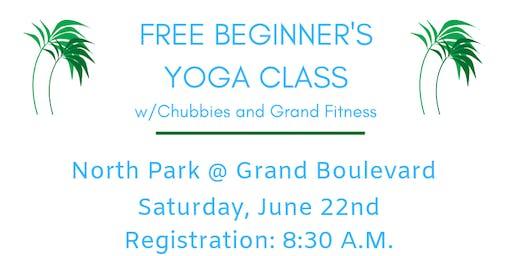 Chubbies x Grand Fitness Hawaiian Shirt Yoga