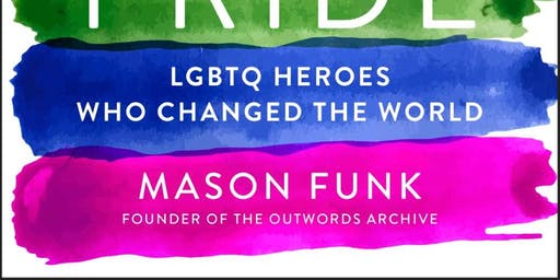 """Meet Mason Funk author of """"The Book Of Pride"""""""