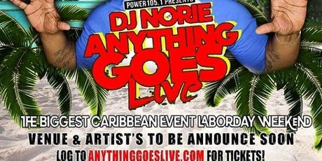 "DJ Norie Anything Goes Live ""Labor Day Edition""  tickets"