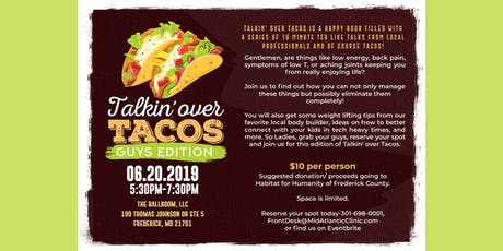 Talkin' over Tacos - Guys Edition tickets