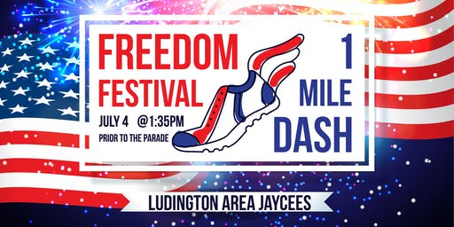First Annual Freedom Festival 1 Mile Dash