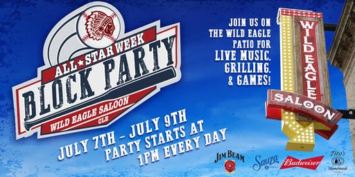 Wild Eagle Saloon All Star BLOCK PARTY
