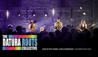 Datura roots collective at the Hook, line and drinker