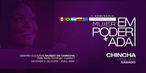 II SEMINARIO INTERNACIONAL: MUJER EMPODERADA CHINCHA
