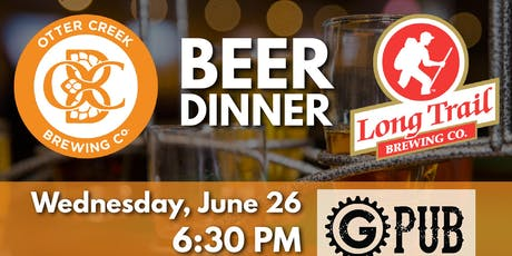 Otter Creek & Long Trail Ale Beer Dinner tickets
