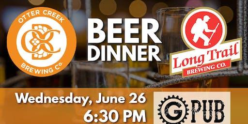 Otter Creek & Long Trail Ale Beer Dinner