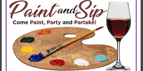Paint and Sip! Sponsored by Welcome Homecare tickets