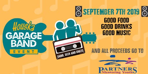 Houska Automotive & Overland Sertoma Club Garage Band Event featuring The Blues Dogs