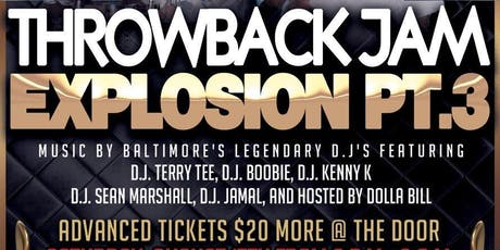 The Throwback Jam Explosion Pt.3 tickets