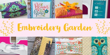 Embroidery Garden tickets