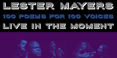 100 Poems for 100 Voices (Live in the Moment) tickets