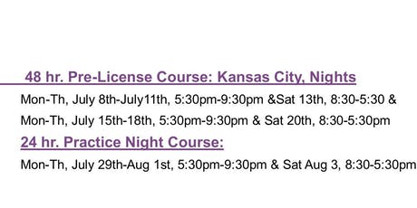 24 Hour Missouri Practice Course tickets